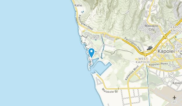 Ko Olina Beach Park Map