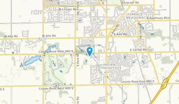 Jackson Marrow Park Map