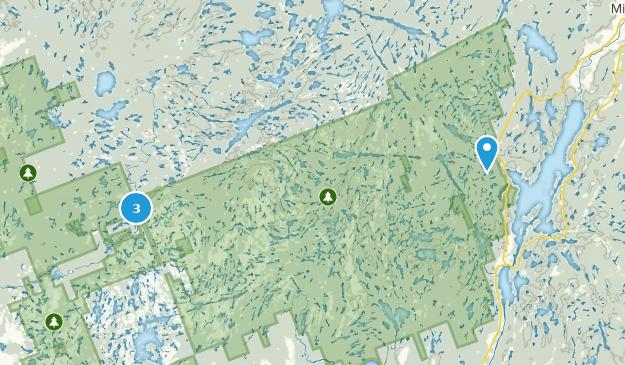 Queen Elizabeth II Woodlands Provincial Park Map