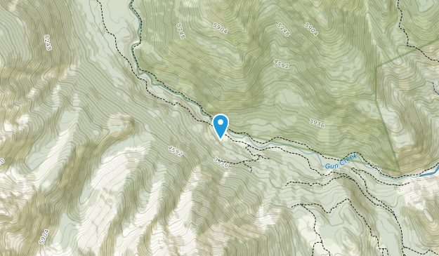 South Chilcotin Mountains Provincial Park Map