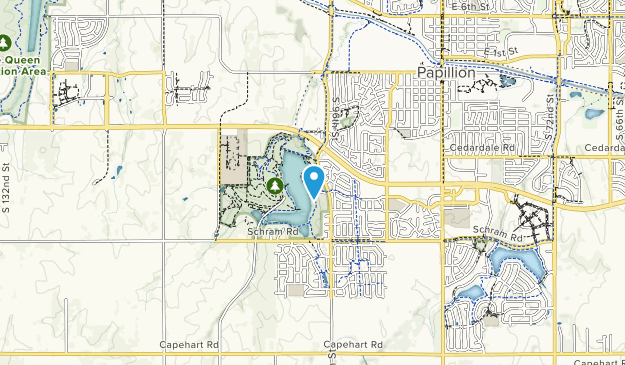 Walnut Creek Recreation Area Map