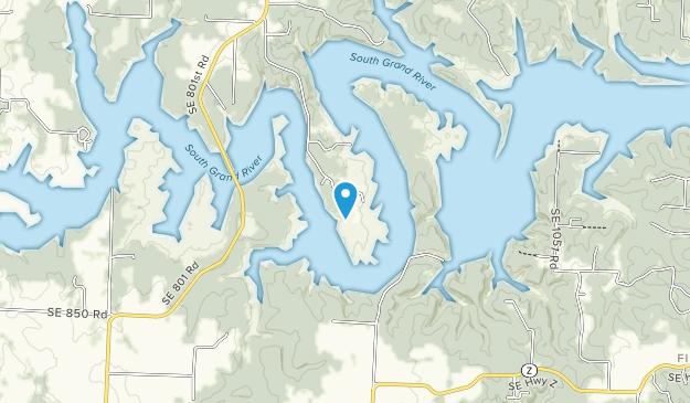U.S. Army Corps of Engineers - Harry S. Truman Lake Map