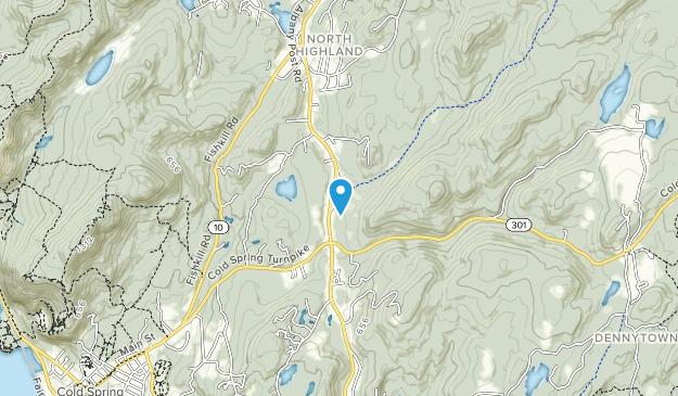 Fahnestock State Park Map