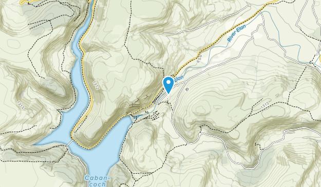 Elan Valley Trust Map
