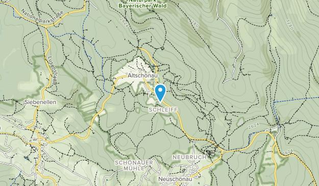 Tierfreigelande National Park Map