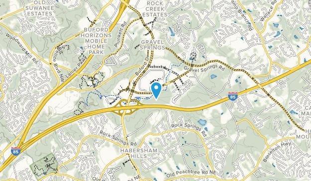 Mill Creek Nature Center Map