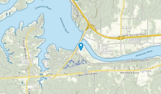White Water ORV Park  Map