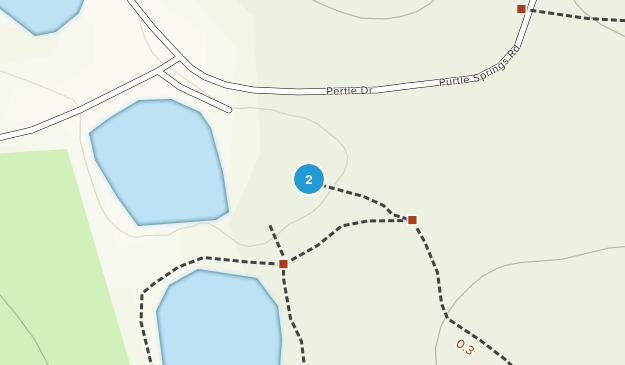Pertle Springs Park Map