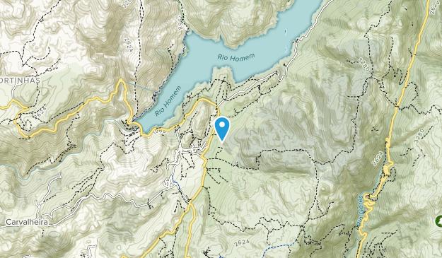 Parque de Campismo de Cerdeira Map