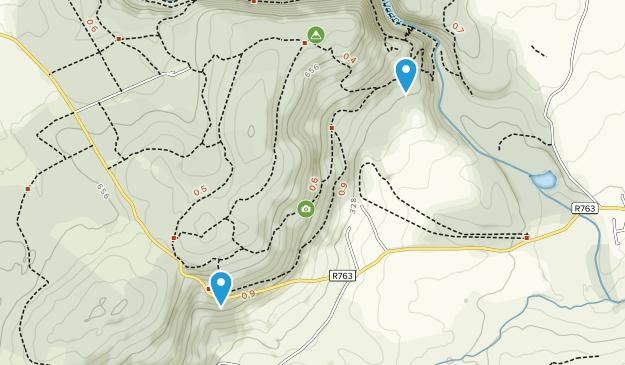Devil's Glen Wood Map