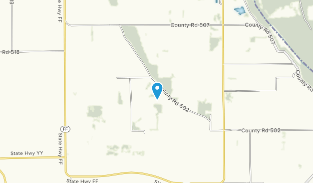 Towosahgy State Historic Site Map