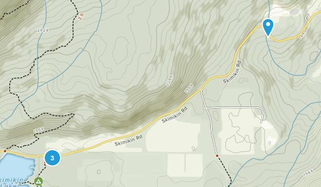 Skimikin Lake Recreation Site Map