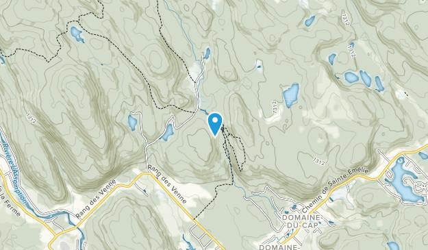 Chute à Bull Regional Park Map
