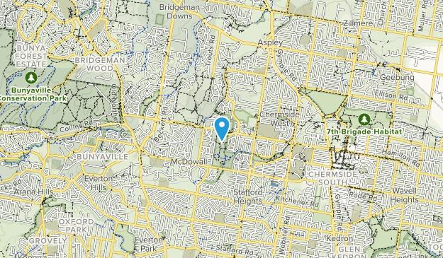 Mine Hill Reserve Map