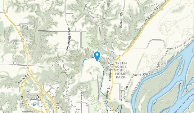 North Gorge Park  Map