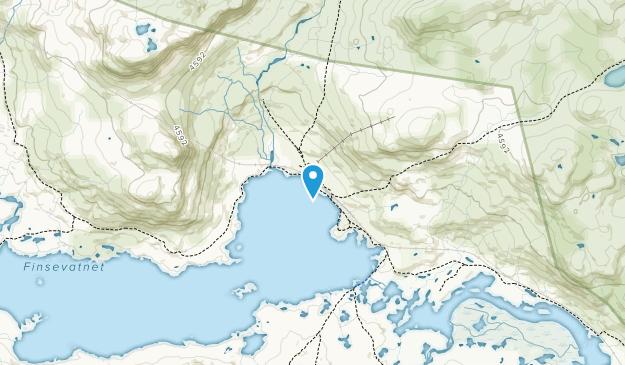 Hallingskarvet National Park Map