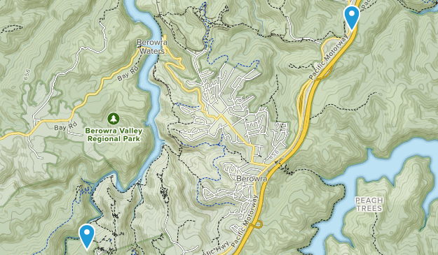 Berowra Valley National Park Map