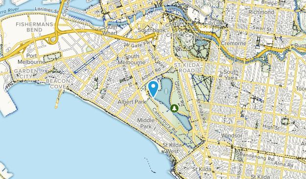Albert Park Map