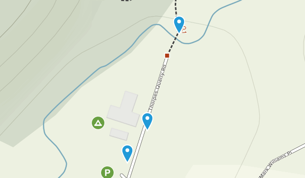 Clevedon Scenic Reserve Map