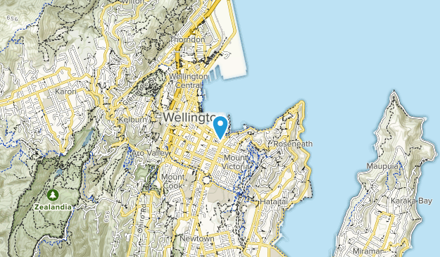 Waitangi Ark Map