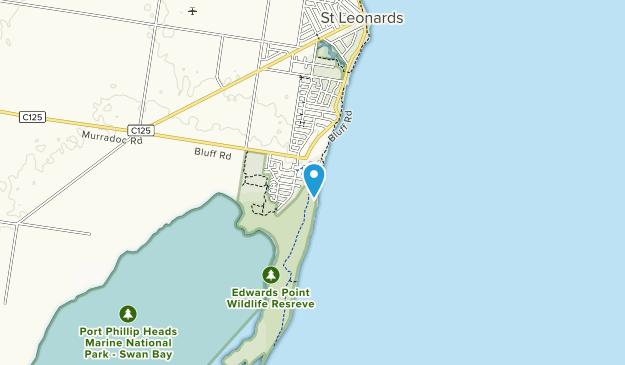 Edwards Point Nature Conservation Reserve Map