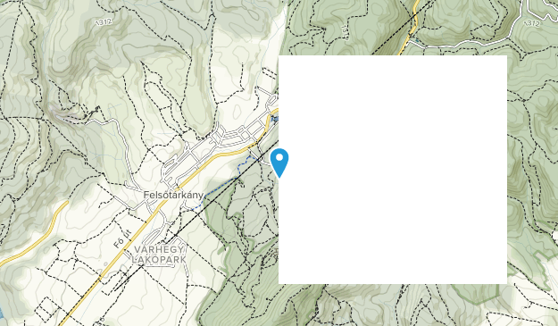 Bükk National Park Map