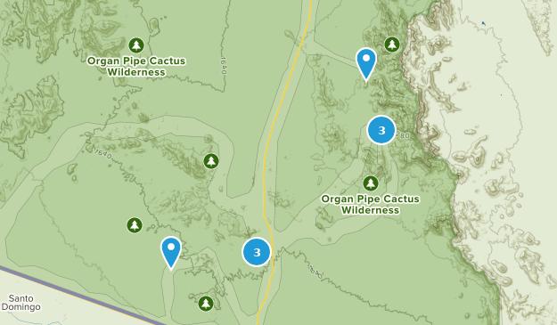 Organ Pipe Cactus National Monument Map