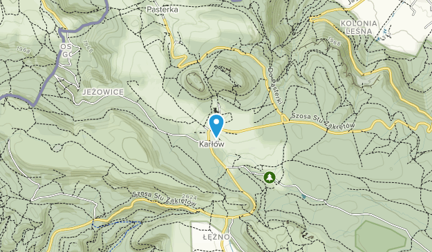 Table Mountains National Park Map