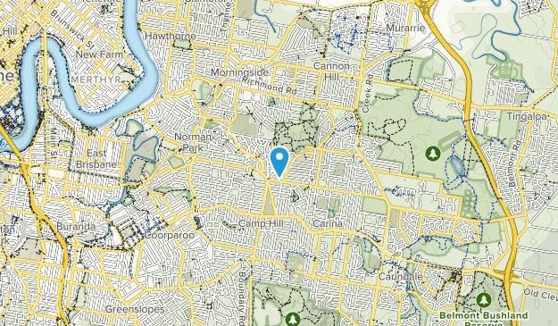 Seven Hills Bushland Reserve Map