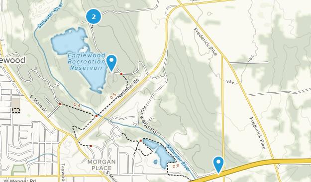 Englewood MetroPark Map