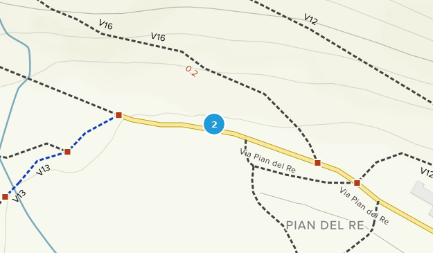 Monviso Regional Park Map
