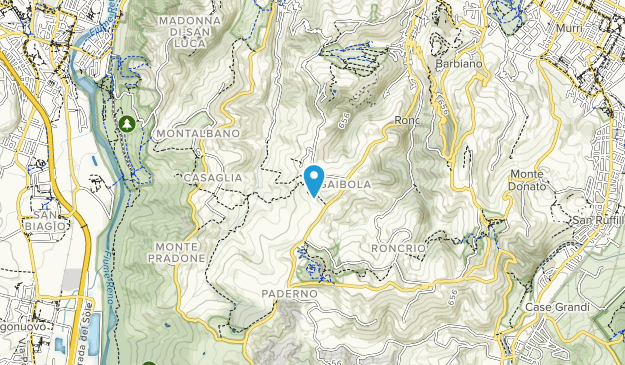 Cavaioni Park Map