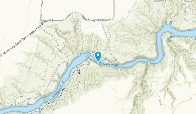 Ryan Island Dam State Park Map