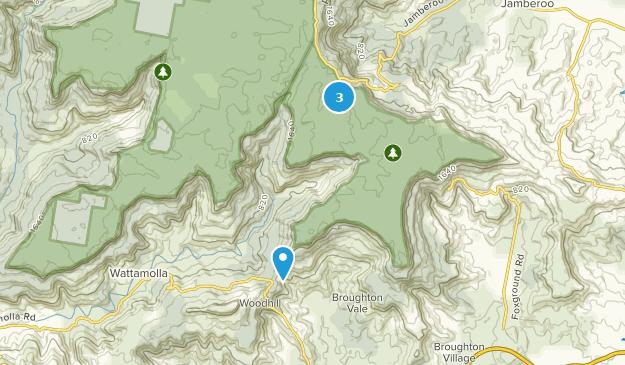 Barren Grounds Nature Reserve Map