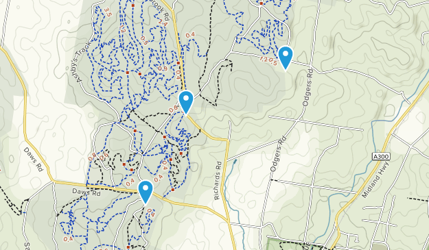 Walmer State Forest Map