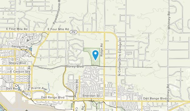 North Cheyenne Community Park Map