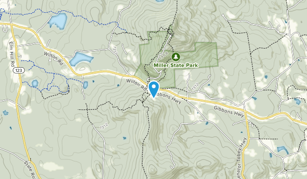 Cabot Memorial Forest Map