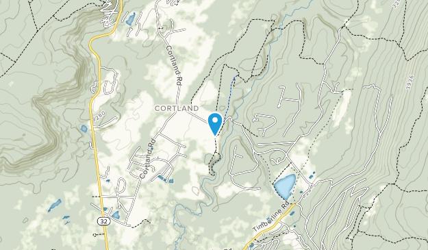 Canaan Valley National Wildlife Refuge Map
