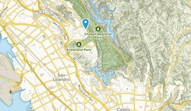 Chabot Regional Park Map