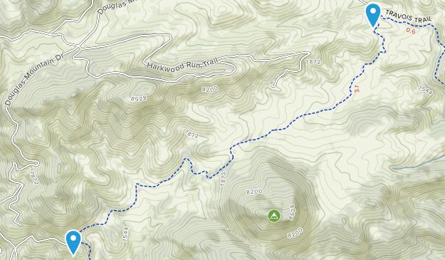 Centennial Cone Park Map