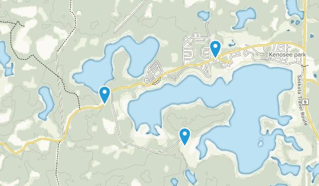 Moose Mountain Provincial Park Map