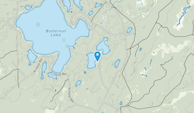 Haymeadow Flowage State Natural Area Map