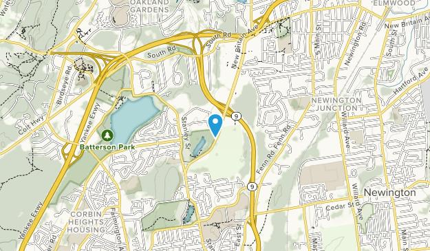A.W. Stanley Park Map