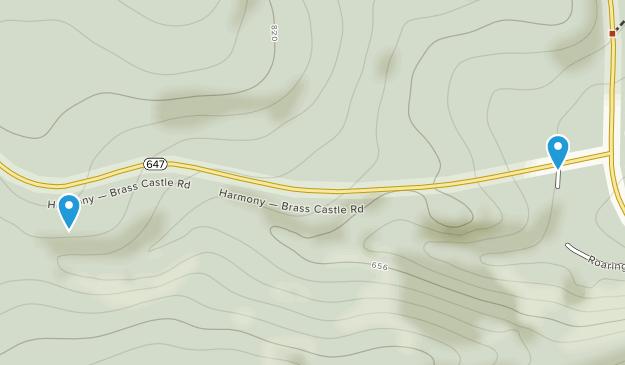 Roaring Rock Park  Map