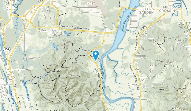 Lewis and Clark National Historical Park Map