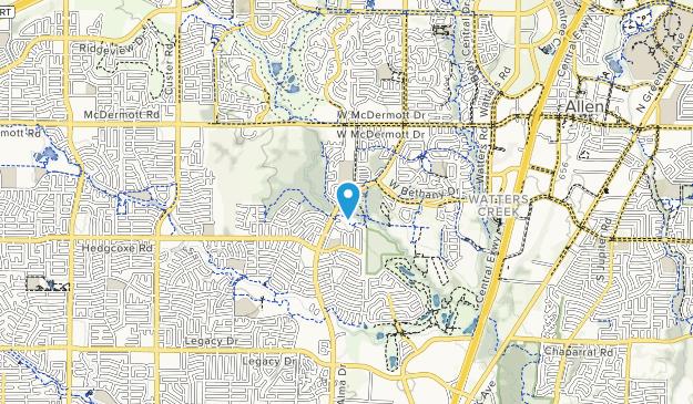Suncreek Park Map