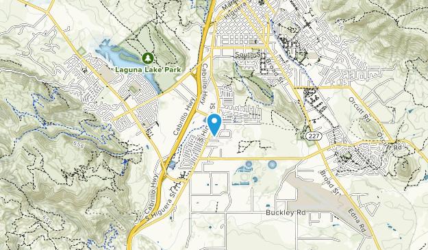 San Luis Creek (South) Map