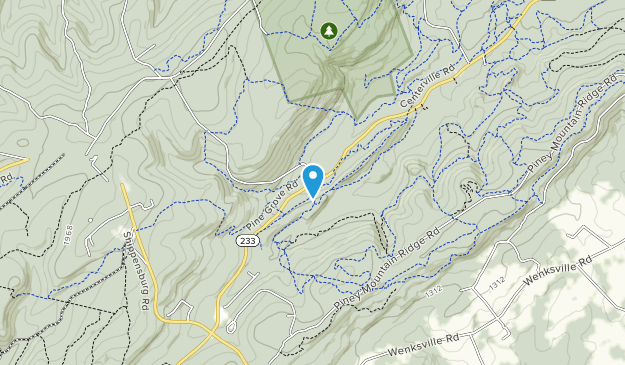 Michaux State Forest Map