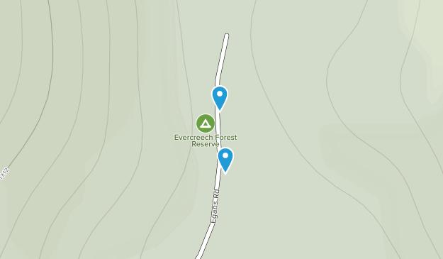 Evercreech Forest Reserve Map
