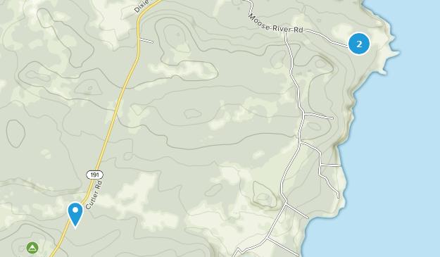 Bog Brook Cove Preserve Map